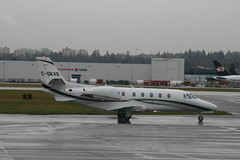 C-GKXS C560XL (Vernon Harvey) Tags: cgkxs cessna 560 citation kreos excel vancouver yvr