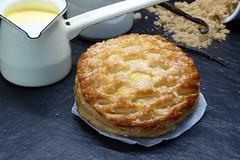 Goldenbake Custard Tart !! (TwoPenceMedia) Tags: foodpics foodporn yummy yum goldenbake foodie twopencemedia madewithlove happycooking food cooking pastrychef pastry vanilla tart custard