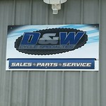 "Custom Aluminum Sign for D&W Cycles <a style=""margin-left:10px; font-size:0.8em;"" href=""http://www.flickr.com/photos/99185451@N05/26143115718/"" target=""_blank"">@flickr</a>"