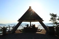 Coastal Sunhiding (aristhought) Tags: hongkong vacation summer scenery nature sunlight water ocean pier landscape
