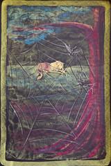 The Gnat and the Lion (ArneKaiser) Tags: 2ndgrade hws haleakalāwaldorfschool mrkaisersclass waldorf art chalk chalkart chalkboard chalkdrawings fable fables