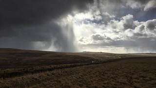 Winter Showers, Dartmoor, England