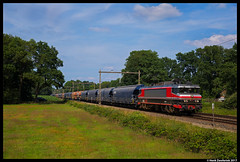Captrain 1619, Rijssen 09-07-2017 (Henk Zwoferink) Tags: notter overijssel nederland nl captrain raillogix henk zwoferink 1619 alstom alstohm ns1600 1600 rijssen graantrein vtg wascosa