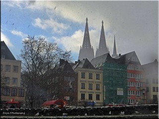 bad weather in Cologne