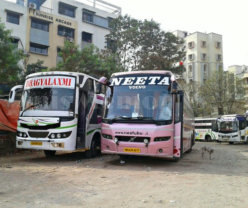 Neeta Travels Multi Axle Volvo B9r Sleeper Bus Route