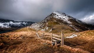 The mighty ridge...