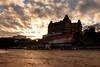 Grand (Derwisz) Tags: scarborough grandhotel buildings historicbuildings yorkshire england uk unitedkingdom southbay beach skyline canon canoneos40d sunset