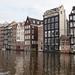 Grachtenhäuser in Amsterdam