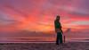 (royargaez) Tags: amanecer playa mar arena puerto morelos colores vista naturaleza camping cielo