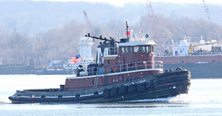 Tug Boat Miriam Moran on Newark Bay