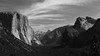 Yosemite Valley (H. P. Filho) Tags: dslr apsc canoneosrebelt5i canonefs1855mmf3556isstm digitalphotoprofessional cropped blackandwhite yosemite tunnelview elcapitan halfdome threebrothers clouds 50view 100view faved 2fav 3fav 5fav 250view 10fav