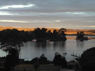 Tamar River from River Retreat Sidmouth Tasmania