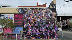 Bailer, Knock & Itch... (colourourcity) Tags: streetart streetartaustralia streetartnow graffiti graffitimelbourne melbourne burnicty awesome nofilters original bailer bale bails knock itch byranitch id acm awol alpha
