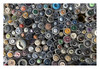 Buttons at the haberdasher's                                         (@ the Afrikaander market in Rotterdam) (AurelioZen) Tags: europe netherlands rotterdam afrikaandermarkt haberdasherystall buttons colours shadows pattern