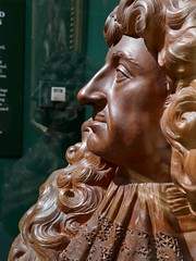 Charles II, c.1675-80, Edward Pearce, Terracotta (jacquemart) Tags: bust therestoration king monarchy royalcollection artandpower charlesii queensgallery london