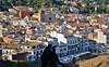 Mira...! (josepponsibusquet.) Tags: tossa tossademar poble pueblo esglesia iglesia mira observació laselva selvamar catalunya catalonia cataluña platja playa costabrava silueta