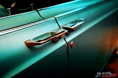 Suicide Doors (Hi-Fi Fotos) Tags: lincoln continental suicide door detail teal chrome vintage american luxury design style classiccar nikon d7200 dx hififotos hallewell