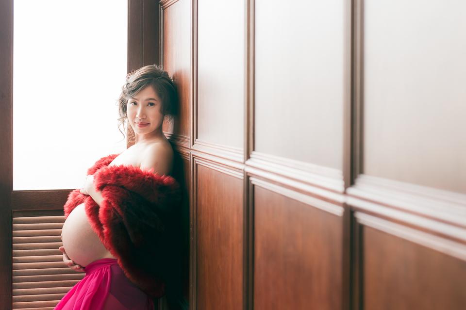 推薦 台南孕婦照 清新唯美風格 YY 031