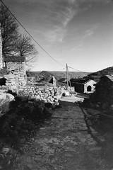 3 Ilford-HP5 (02) - Le Pouget (Lozère) (MoJo_3016) Tags: bw bn sw lepouget villefort lozere cevennes when we were young eighties achtziger 80s pourcharesses cevennen languedoc roussillon nikon fm2 frankreich france village hamlet hameau borgo paese villaggio film noiretblanc nb weiler dorf patelin