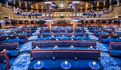 2017 - Regent Explorer - Constellation Theatre (Ted's photos - For Me & You) Tags: 2017 cropped nikon nikond750 nikonfx regentcruise tedmcgrath tedsphotos vignetting constellationtheatre sevenseasexplorer ship cruiseship seats emptyseats chairs
