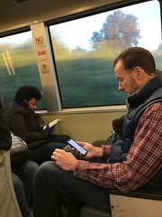 reading something.. (elena_photos) Tags: people bart