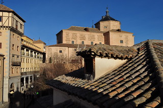 Par-dessus les toits, Tolède, Castille-La Manche, Espagne.