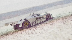 Mazda 787b_Silver_6662 (Chall_R_288) Tags: mazda 787b ixo 143 scale model racecar le mans rotary drawing