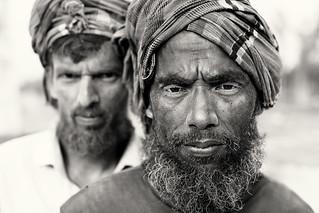 Bangladesh, brick field workers