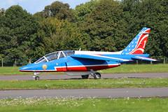 E45 Biggin Hill 20/08/17 (Andy Vass Aviation) Tags: bigginhill frenchairforce alphajet patrouilledefrance ftetf e45