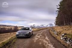 Audi A5 Coupe S-Line in Daytona Grey (Daniel Giza) Tags: audi a5 coupe sline daytonagrey daytona grey canon 50d landscape road car sky tree mountain grass lee big stopper bigstopper