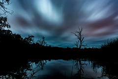 Wonga Wetlands (Mick Hansford) Tags: wonga wetlands albury wodonga murray river splitters creek long exposure 3minutes predawn