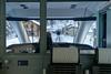 Drivers view: Green to the tunnel (2/3) (jaeschol) Tags: engadin europa graubuenden grischuna jahreszeit kantongraubünden kontinent schnee schweiz spinas suisse switzerland wetter winter bevers graubünden ch