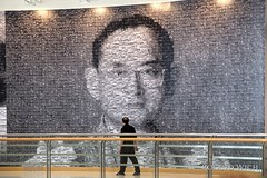 Bangkok Art and Culture Centre (Rolandito.) Tags: south east asia southeast thailand bangkok culture centre art bhumibol artwork visitor