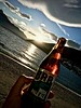 ZQN BRB IPA (Remko Tanis) Tags: alcohol beer bottle ipa lake newzealand queenstown sun sunset wakatipu water