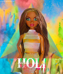 TRIAD Magazine| March 2018 (_Dollmination_) Tags: triad magazine mag covergirl cover festivalofcolors explore colors festival holi