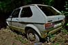 volkswagen golf GL (riccardo nassisi) Tags: abbandonata auto car wreck wrecked rust rusty rottame relitto ruggine ruins scrap scrapyard epave lost parma