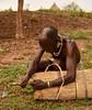 Beehive Maker (Rod Waddington) Tags: africa african afrique afrika äthiopien ethiopia ethiopian ethnic etiopia ethnicity ethiopie etiopian omovalley omo outdoor omoriver turmi hamer hamar tribe traditional tribal culture cultural beehive maker making craft man warrior