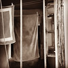 Washing (VillaRhapsody) Tags: washing laundry clean laundrette hanging towels rhodes greece sepia