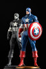 Captain America | Statue | Bowen Designs (leadin2) Tags: marvel captainamerica captain america bowendesigns bowen designs statue steve rogers newsreel canon 2018 comics avengers painted blackandwhite black white