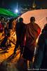 Men inflate a Fire Balloon at the Shwe Lin Lun Pagoda Festival in Kalaw (adventurousness) Tags: fireballoon hotairballoon hsutaungpye shanstate shwelinlun balloon buddha buddhism fiire festival fire kalaw night pagoda religion shan temple fireworks torch