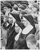 Nuns join call for federal intervention in Selma: 1965 (washington_area_spark) Tags: white house lafayette park demonstration protest picket rally sit civil disobedience selma edmond pettus bridge beatings alabama all souls church washington dc rights voting 1965 act african american black catholic nuns