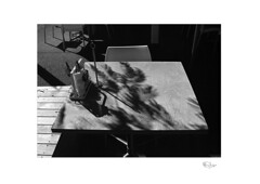 A Table in the Shade (radspix) Tags: canon a1 tamron adaptall ii 3570mm cf macro f35 model 17a arista edu 100 pmk pyro