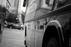 Chinese Bus (thedot_ru) Tags: bus casual outoffocus dof streetphotography blackandwhite bw canon20d 2006