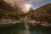 El puente. (Amparo Hervella) Tags: guijodesantabárbara cáceres españa spain roca cascada nube puente naturaleza color largaexposición d7000 nikon nikond7000