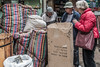20171228 Cairo, Egypt 08478-182 (R H Kamen) Tags: cairo driedfood egypt egyptianculture largegroupofobjects middleeast northafrica adultsonly day food incidentalpeope marketstall outdoors pattern rhkamen sack souk striped threepeople