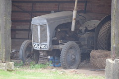 Old Jalopy (Worthing Wanderer) Tags: norfolk summer sunny cloudy farmland ludham howhill windmill august