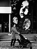 P1230325 (Akbar Simonse) Tags: amsterdam holland netherlands nederland streetphotography straatfotografie streetart people candid woman wnadelwagen stroller zwartwit bw blancoynegro bn monochrome akbarsimonse