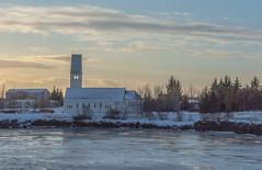 20180115-1020 Selfoss Church (tulak56) Tags: 2018 january iceland selfoss church river