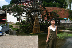 IMG_4696 (neil grandison) Tags: china lijiang yunnan machinery structures waterwheel 琦琦