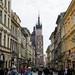 Pelas ruas da Cracóvia